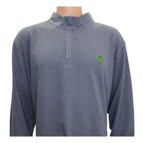 Masters Berckman's Heathered Quarter Zip Pullover - 4X Only