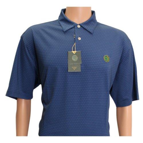 Masters Berckman's Navy Performance Tech Shirt with Circle Flag Logo