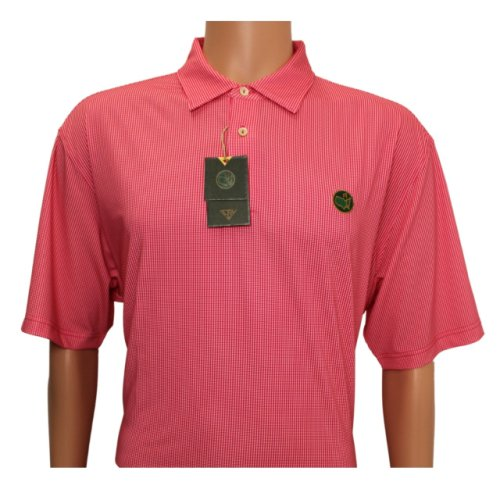 Masters Berckman's Pink and White Dots Performance Tech Polo