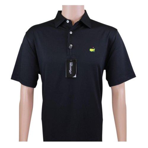 Masters Black Performance Tech Golf Shirt