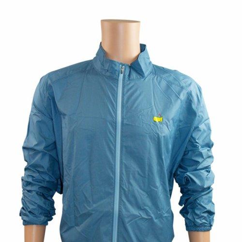 Masters Blue Herringbone Foldable Rain Jacket