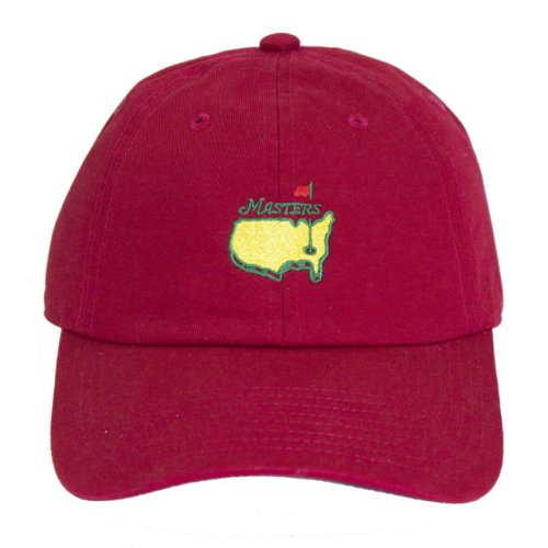 e3b50b15e11 Masters Caddy Slouch Hat - Red