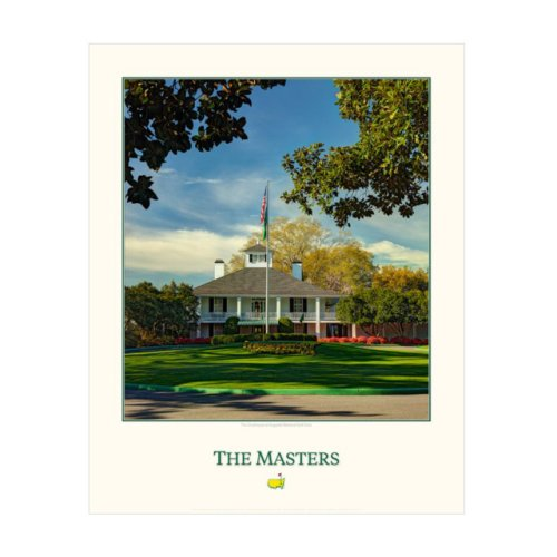 Masters Clubhouse 16x 20 Poster