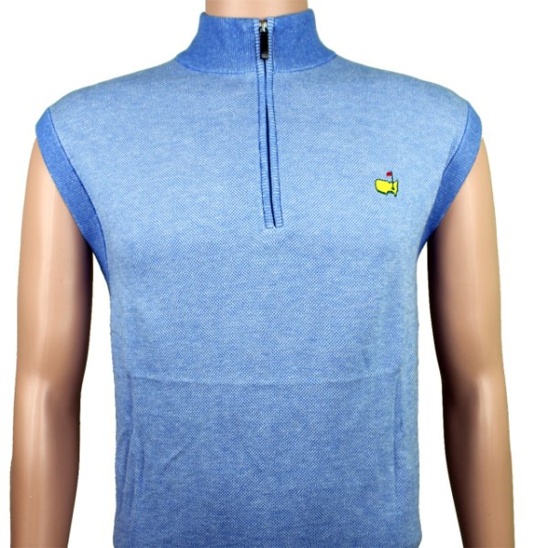 Masters Clubhouse Collection 1/4 Zip Sweater Vest