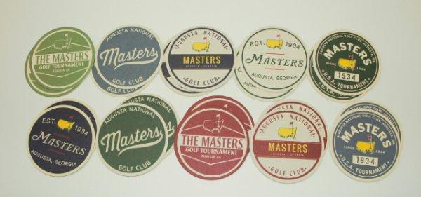 Masters Coasters - Set of 20