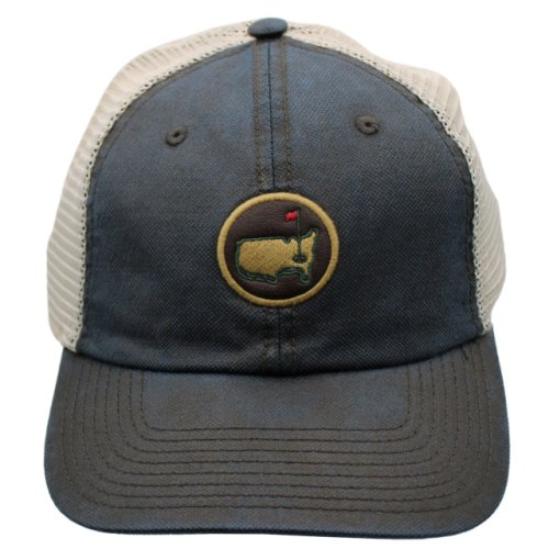 Masters Coated Leather-Look Mesh Back Hat - Navy