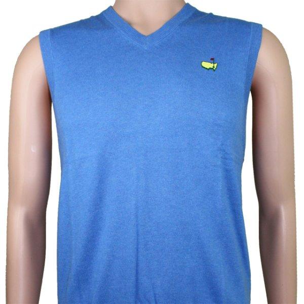 Masters Collection Regatta Blue Sweater Vest