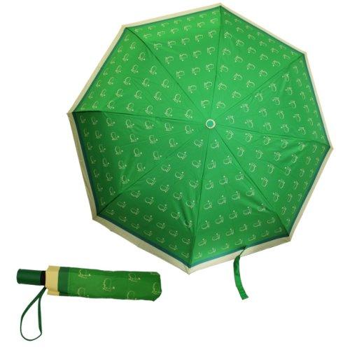 Masters Compact Green & Yellow Umbrella