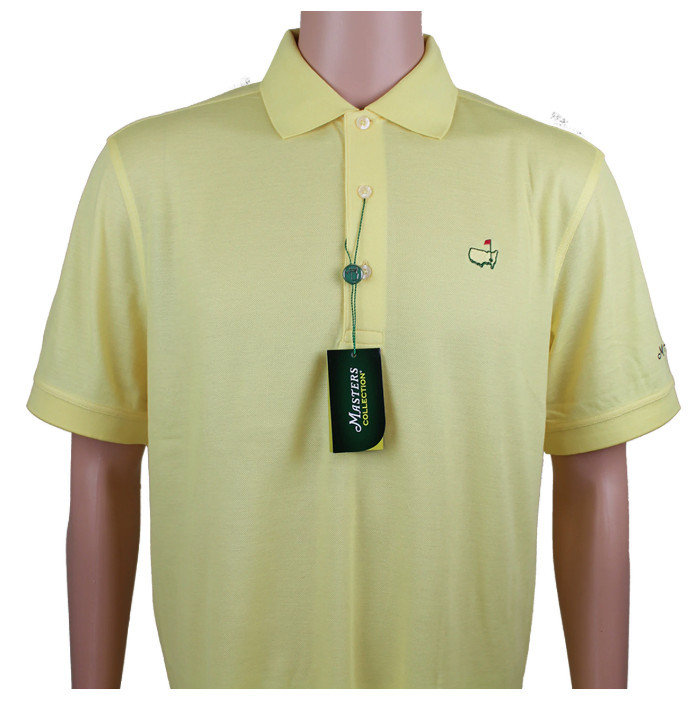 Masters Cotton Golf Polo - Yellow