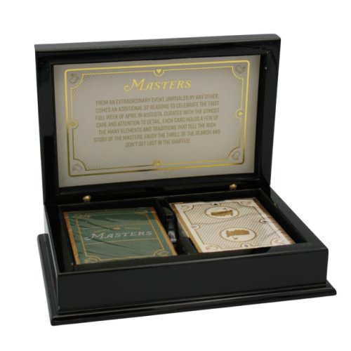 Masters Deluxe Playing Cards with Laquered Box