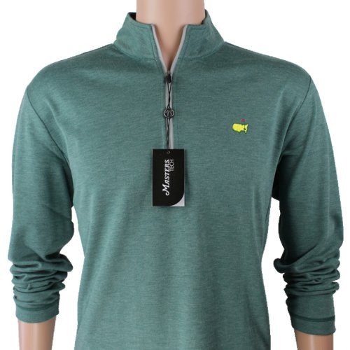 Masters Evergreen Performance Tech Quarter Zip Pullover