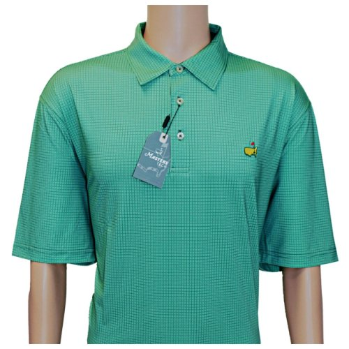 Masters Evergreen Square Pattern Performance Tech Shirt