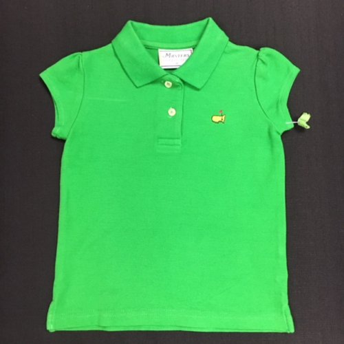 Masters Girls Light Green Polo-3T *As Is