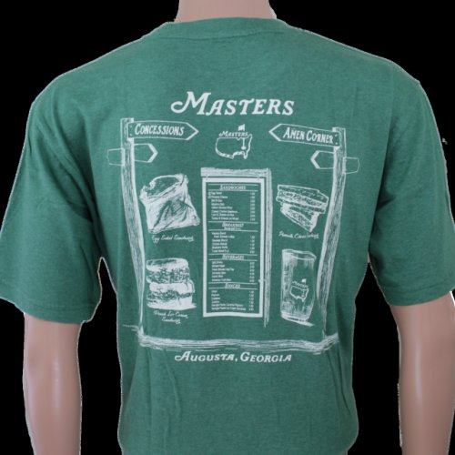 Masters Green Concessions T-Shirt
