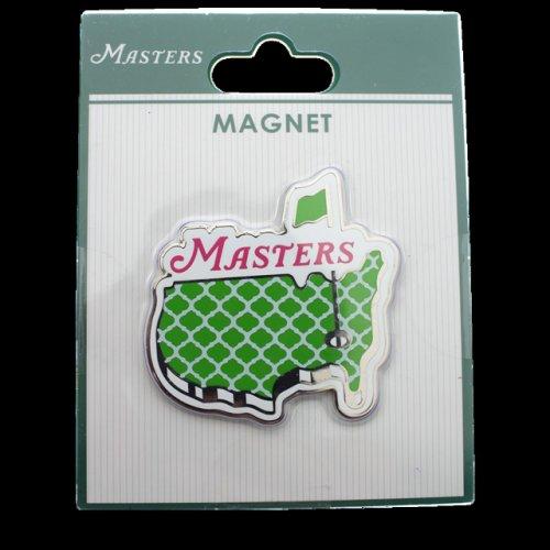 Masters Green Decorative Logo Magnet