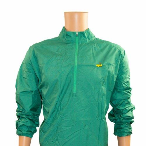 Masters Green Herringbone Foldable Rain Jacket