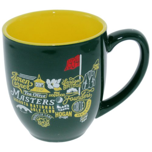 Masters Green Iconic Logo Coffee Mug (pre-order)