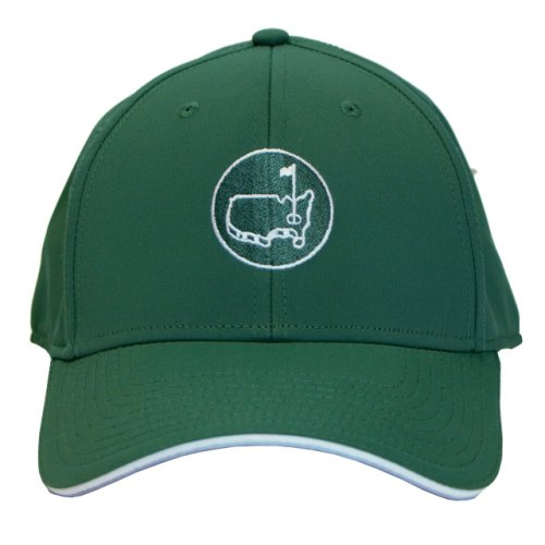 Masters Green Performance Hat with Round Logo