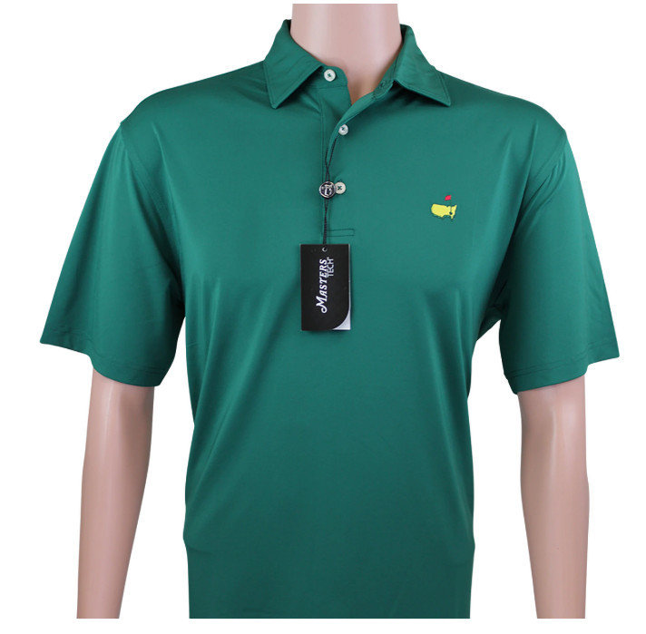 Masters Green Performance Tech Golf Shirt