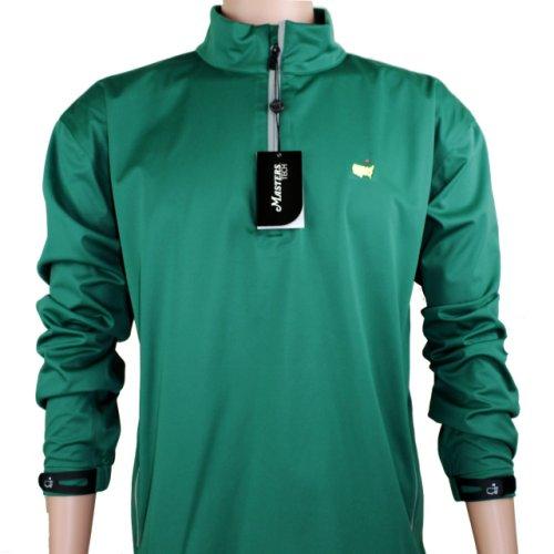 Masters Green Performance Tech Quarter Zip Wind Shirt