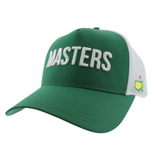 Masters Green Performance Tech Structured Trucker Hat