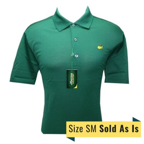 Masters Green Polo-Size Small *As Is