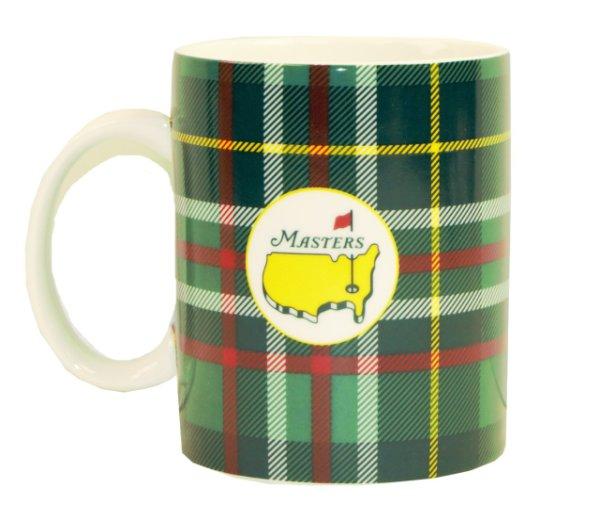 Masters Green Tartan Coffee Mug