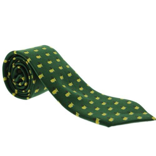 Masters Green Youth Logo Necktie
