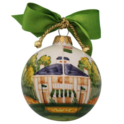 Masters Hand Painted Clubhouse Ornament