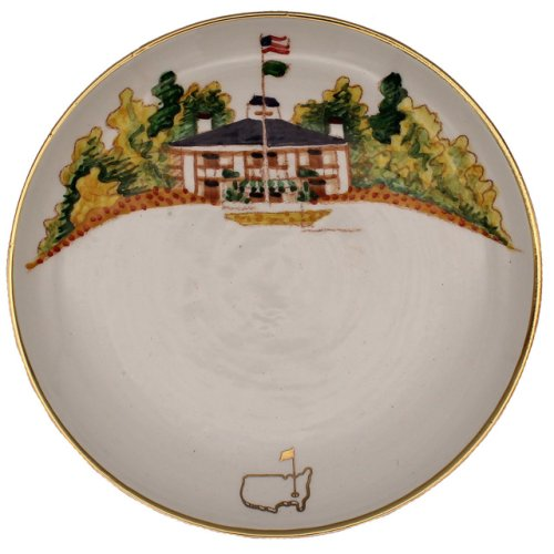 Masters Handpainted Clubhouse Small Round Plate