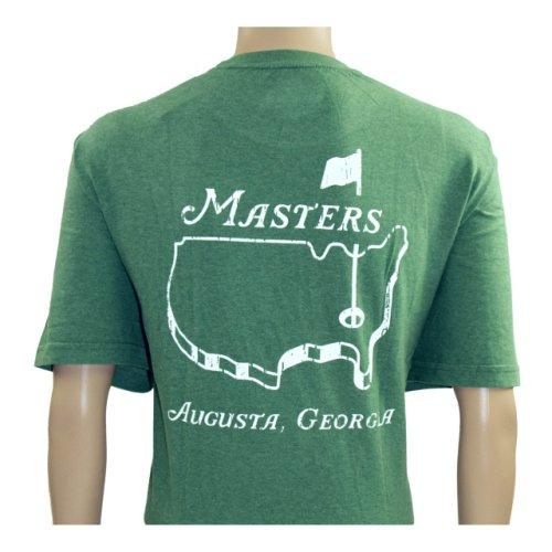 Masters Heathered Green Logo T-Shirt