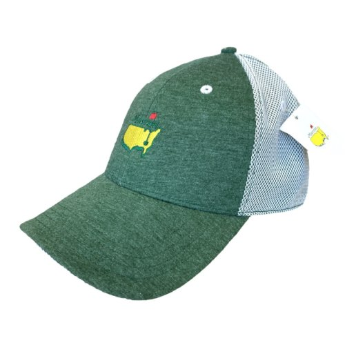 Masters Hunter Green Hat with Mesh Back
