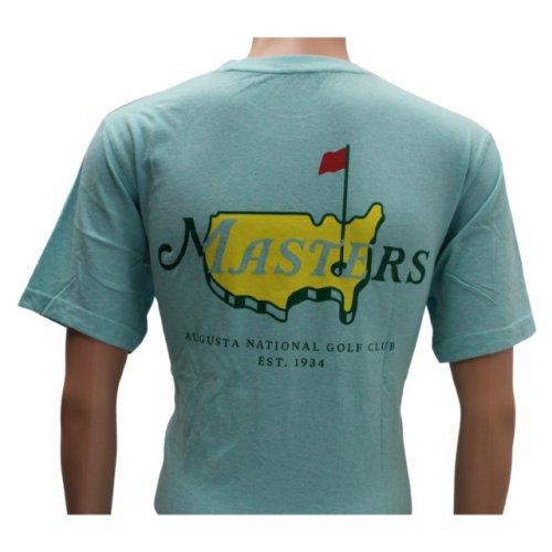 Masters Ice Blue Logo T-Shirt