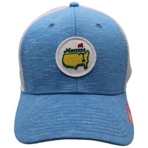 Masters Ladies Heathered Carolina Blue Trucker Hat with Mesh Back