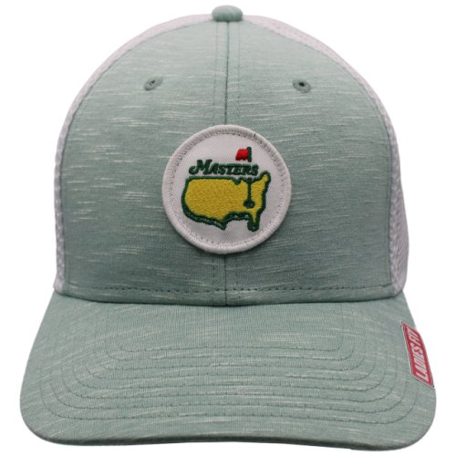 Masters Ladies Heathered Mint Green Trucker Hat with Mesh Back