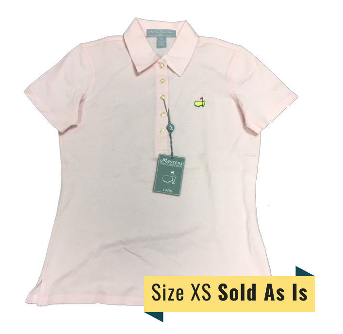 Masters Ladies Light Pink Golf Shirt *AS IS