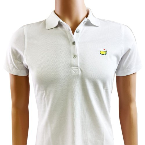 Masters Ladies Magnolia Lane Golf Shirt - White