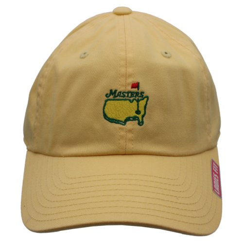 Masters Ladies Undated Butter Yellow Caddy Hat