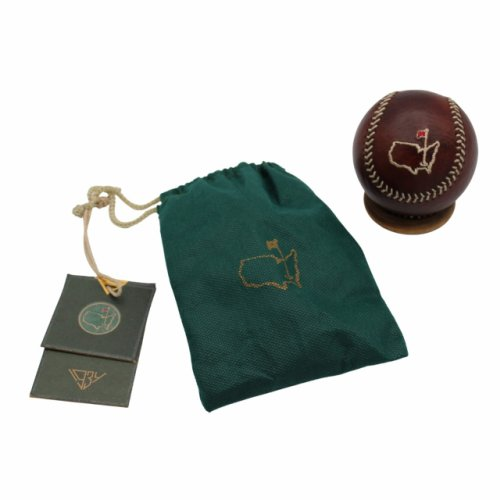Masters Leather Baseball with Stand