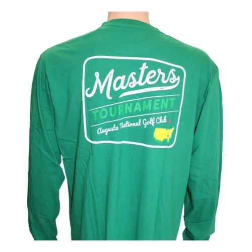 Masters Long-Sleeved Green Retro Shirt