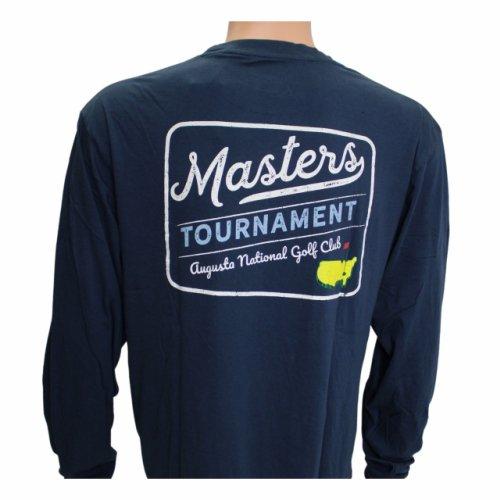 Masters Long-Sleeved Navy Retro Shirt