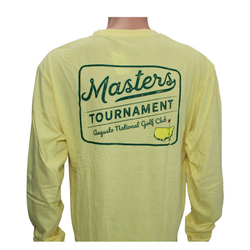 Masters Long-Sleeved Yellow Retro Shirt