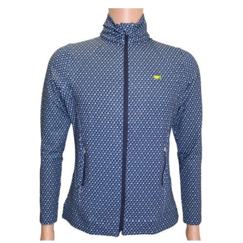 Masters Magnolia Lane Navy Full-Zip Jacket with Mini Logos