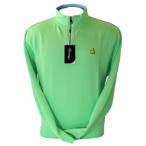 Masters Mint Green Tech Quarter Zip Pullover