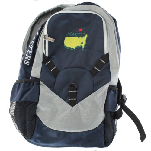 Masters Navy and White Backpack
