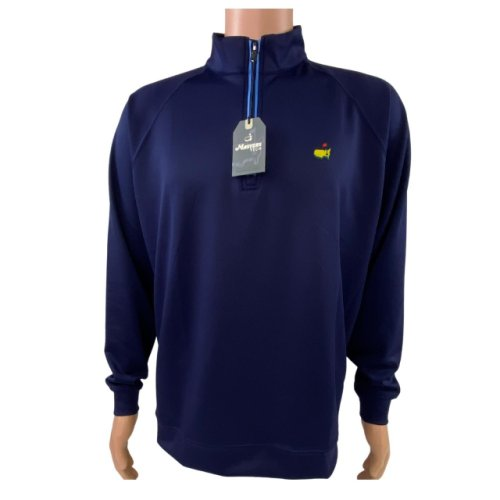 Masters Navy Blue 1/4 Zip Tech Pullover