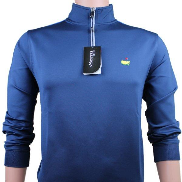 Masters Navy Blue Tech Quarter Zip Pullover