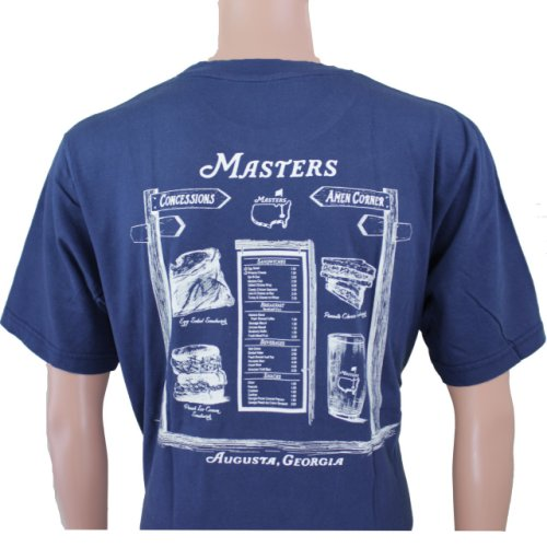 Masters Navy Concessions T - Shirt