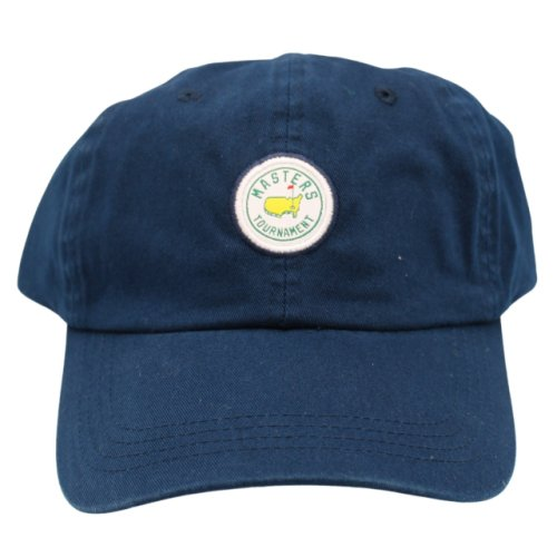 Masters Navy Cotton Hat with Circle Patch