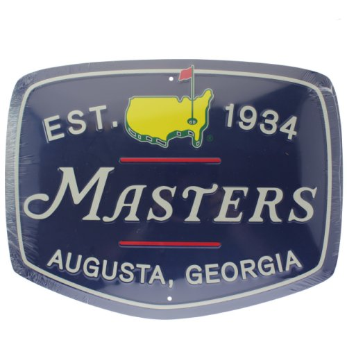 Masters Navy Metal Wall Sign (pre-order)